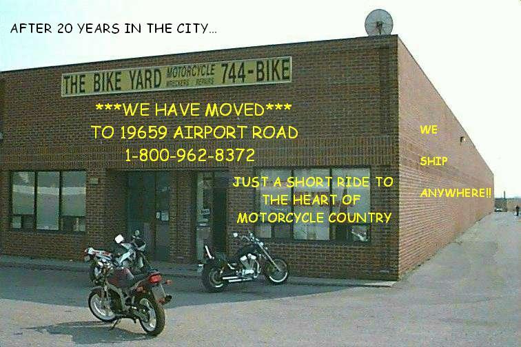 The Bike Yard - Used Motorcycle Parts - Motorcycle Salvage ...